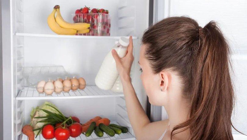 İşte yiyecekleri buzdolabında saklama yöntemleri