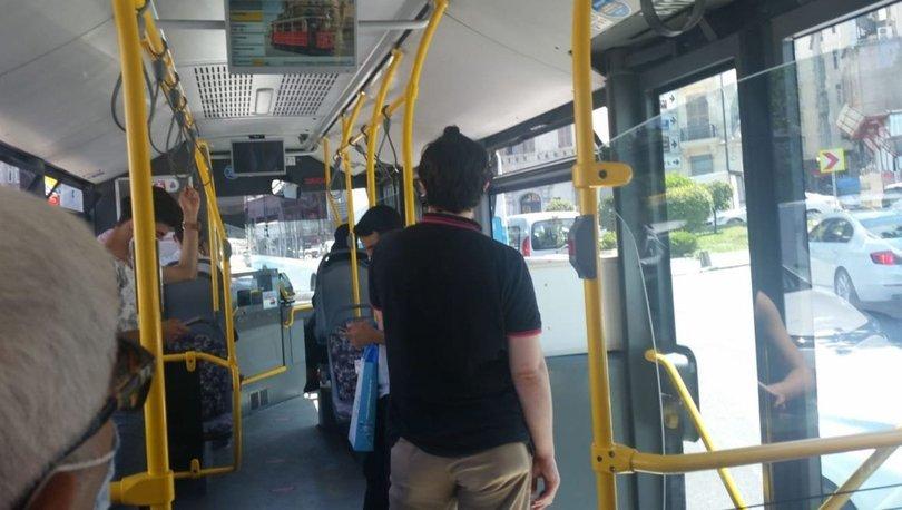 Otobüste maske tartışması!