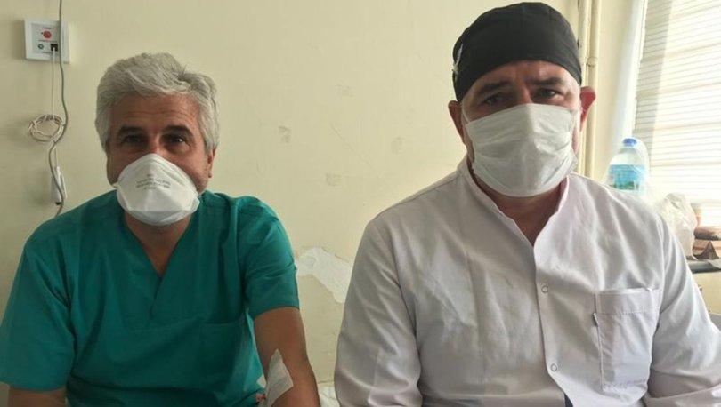 Doktora şiddete iki tutuklama