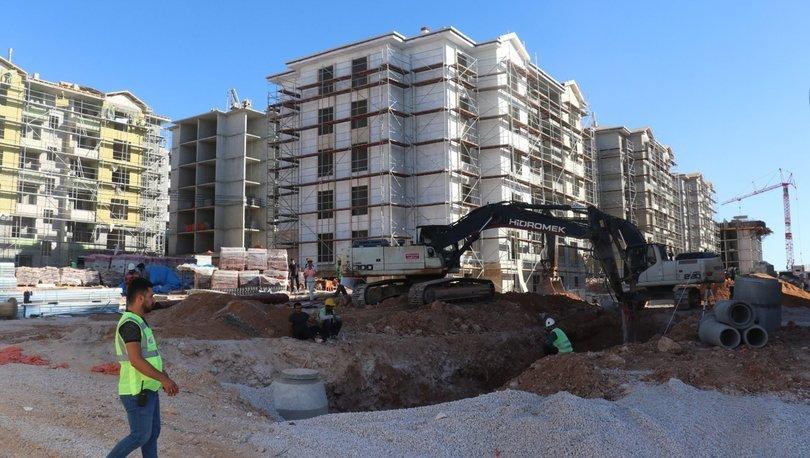 Elazığ'ın deprem konutlarında ilk etap ağustosta teslim