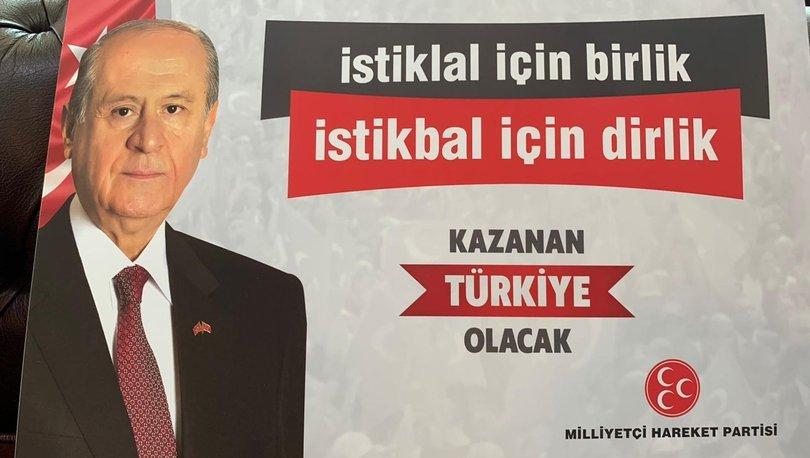 MHP'nin kurultay sloganı: İstiklal için birlik istiklal için dirlik