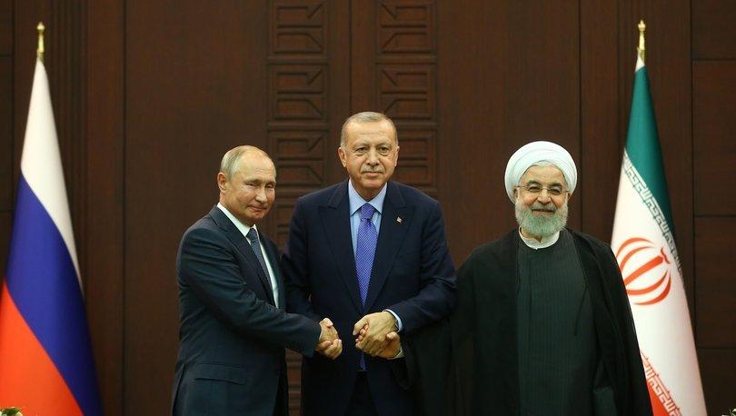 Son dakika... Erdoğan, Putin ve Ruhani yarın Suriye'yi görüşecek