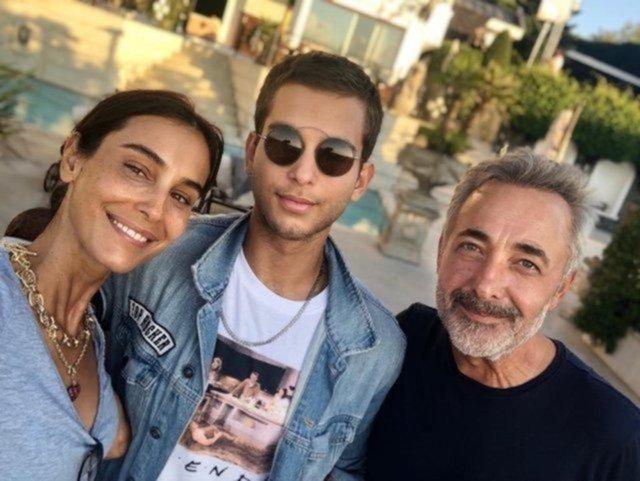 Arzum Onan'dan oğlu Can Aslantuğ ile pozlar - Magazin haberleri