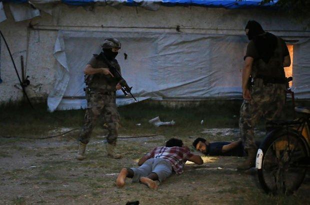 Suriye uyruklu 3 DEAŞ'lı gözaltında