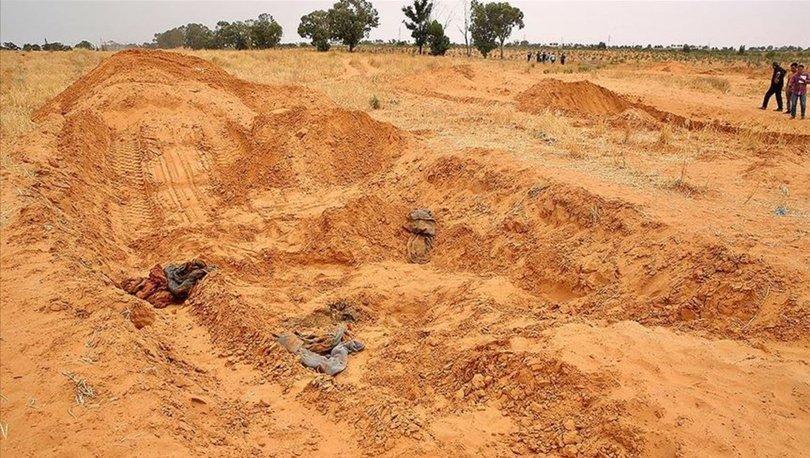 Libya'daki toplu mezarlardan 23 günde 208 ceset çıkarıldı!