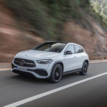 Mercedes yeni GLA