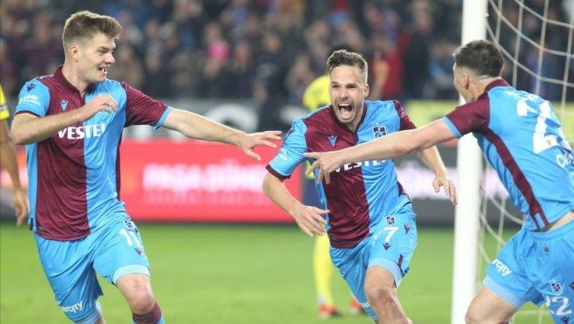 Trabzonspor, Galatasaray'a kaybetmezse tarihi seriye ulaşacak