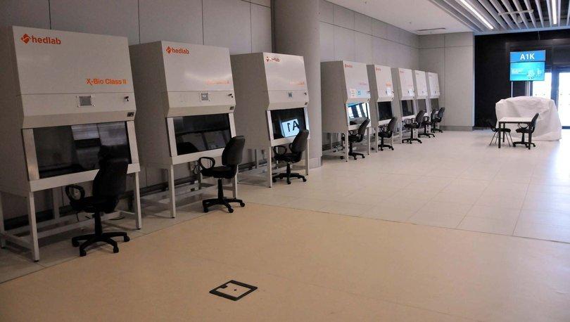 Son dakika haberler... İstanbul Havalimanı'nda koronavirüs test merkezi kuruldu