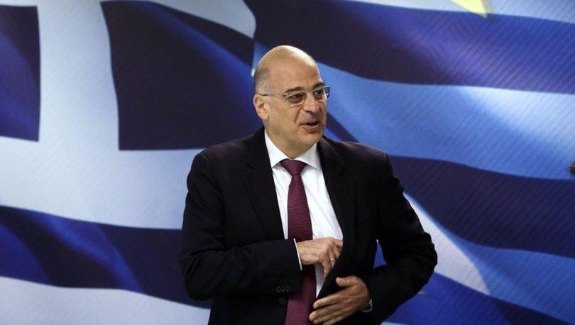 Yunan Dışişleri Bakanı Dendias, Hafter yanlılarıyla görüştü