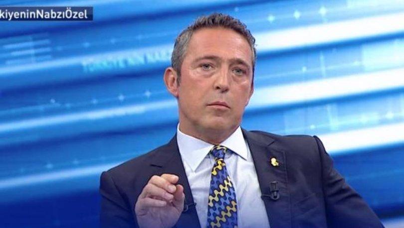 Son dakika! Fenerbahçe Başkanı Ali Koç'tan transfer açıklaması!