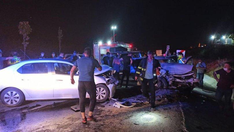 Bilecik'te iki otomobil çarpıştı: 6 yaralı - HABERLER