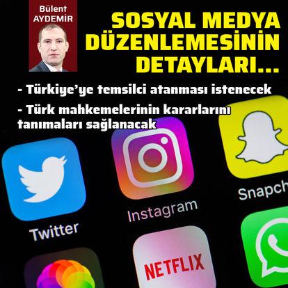Sosyal medya düzenlemesinin detayları belli oldu