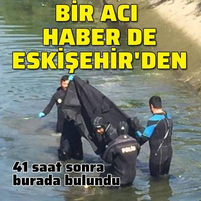 Bir acı haber de Eskişehir'den