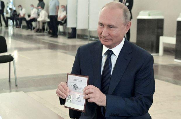 Putin'in 2036'ya kadar iktidarına ezici onay!