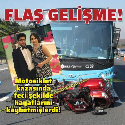 Motosiklet kazasında ölen çiftin soruşturmasında flaş gelişme!