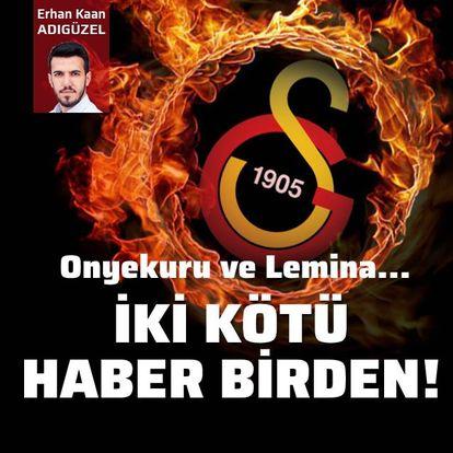 Galatasaray'a iki kötü haber birden!