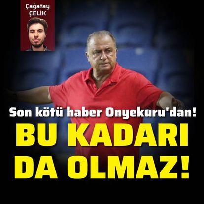 Galatasaray'ın yüzü gülmüyor!