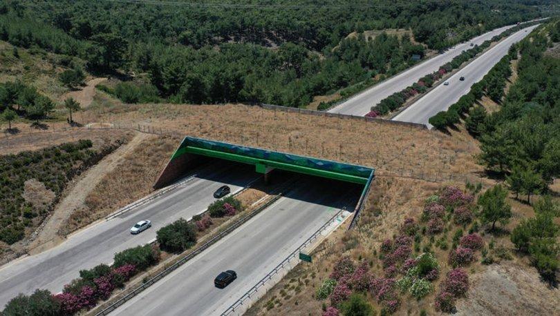 çeşme otoyolu ekolojik köprü