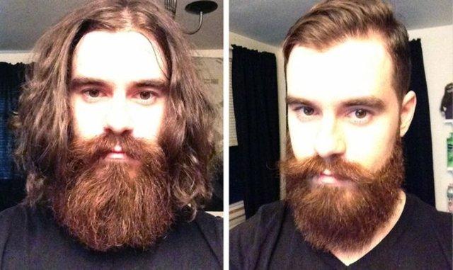 Saçlarını kestirenlerin öncesi-sonrası fotoğrafları