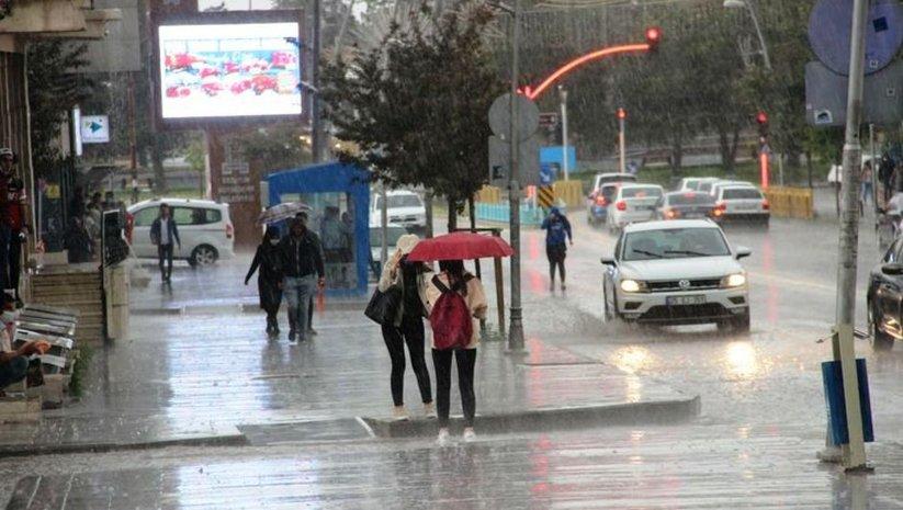 Meteoroloji'den bazı iller için sağanak uyarısı