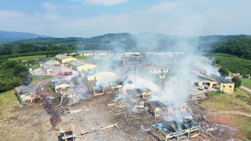 Sakarya Hendek havai fişek fabrikası