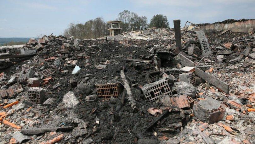 sakarya hendek havai fişek fabrikası patlama