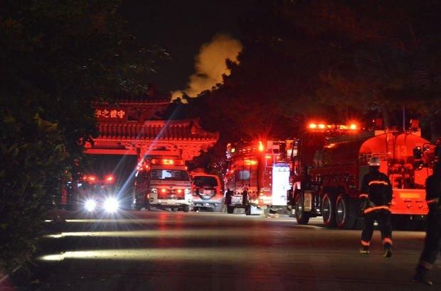 Japonya'da yangın faciası: 3 itfaiyeci ve 1 polis öldü!