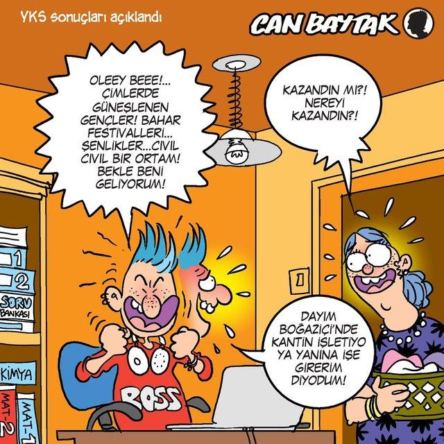 Can Baytak karikatürleri (Temmuz 2020)