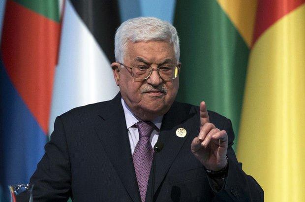 Abbas'tan İsrail ile müzakere açıklaması