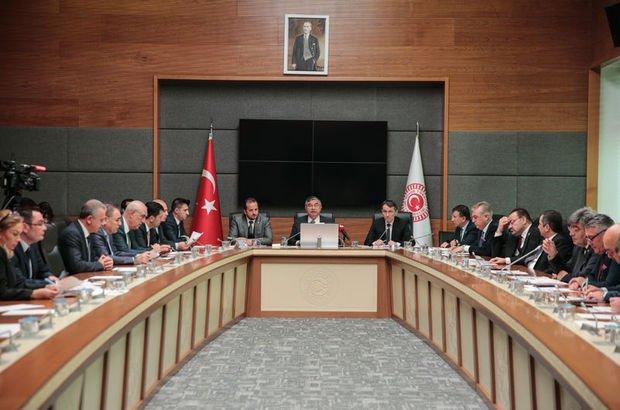 Askeri alan düzenlemelerini içeren teklif komisyonda