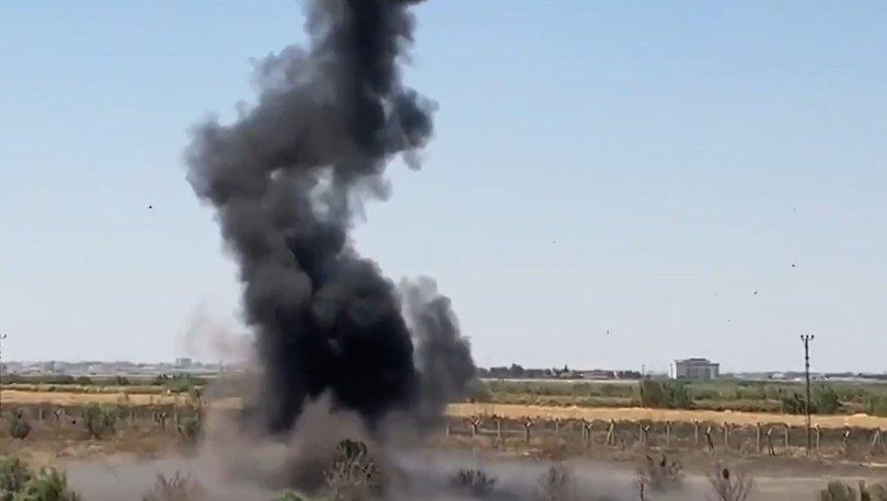 MSB açıklama: 7 adet antitank mayını imha edildi