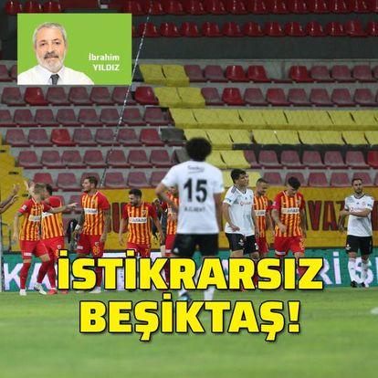 İstikrarsız Beşiktaş