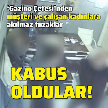 Gazino çetesi operasyonu: 1'i polis 6 tutuklama
