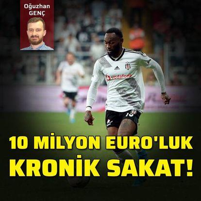 10 milyon Euro'luk kronik sakat!