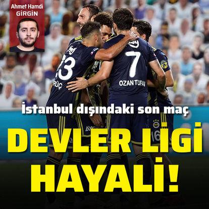 Fenerbahçe, Devler Ligi'ni istiyor