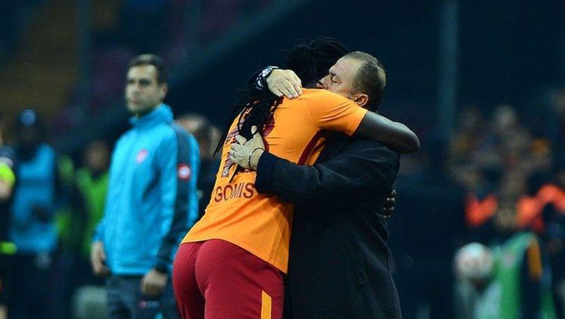 Galatasaray'da gelen Gomis'i arattı!