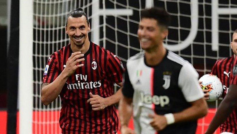 Zlatan yine yaptı yapacağını!