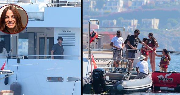 11 milyon Euro'luk tekneyle tatil