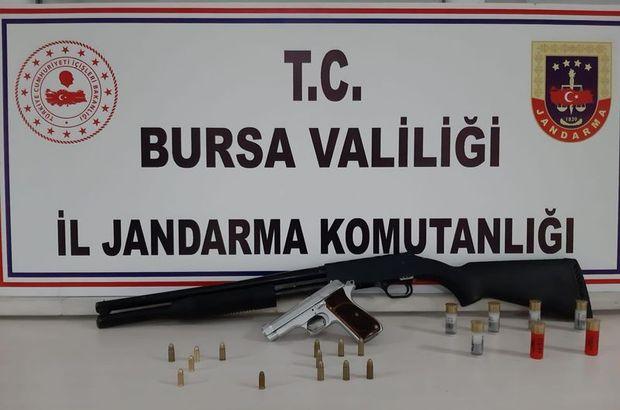 Bursa'da silah kaçakçılığı operasyonu