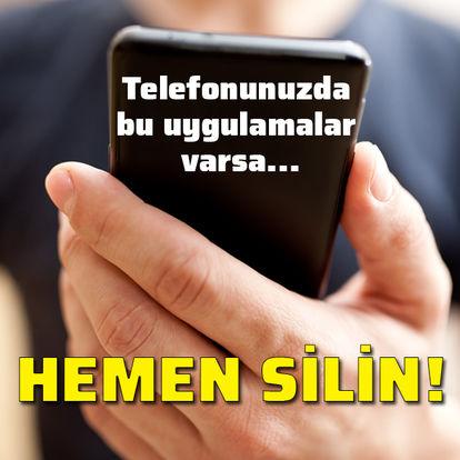 telefonunuzda bu uygulamalar