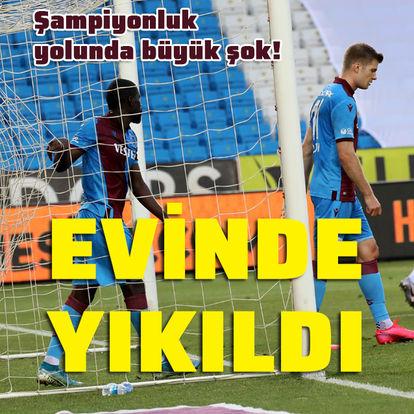 Trabzon'a büyük şok!