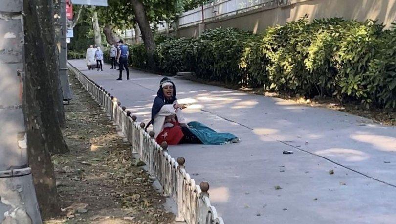 Dolmabahçe'de şüpheli kadın hareketliliği