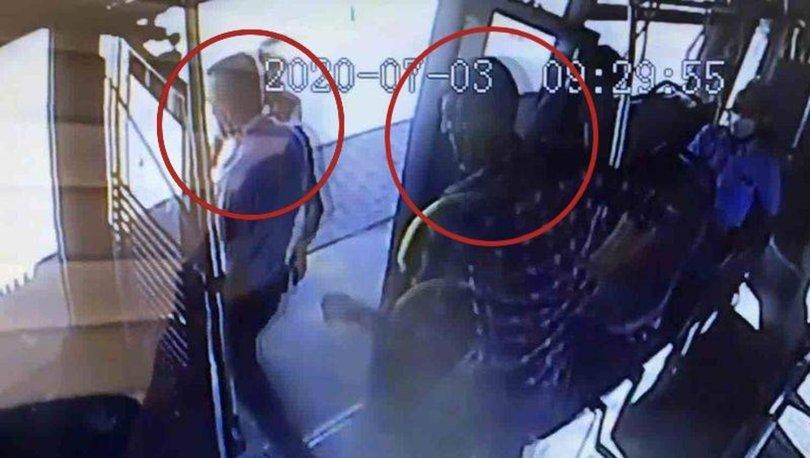 konya otobüste bıçaklı kavga