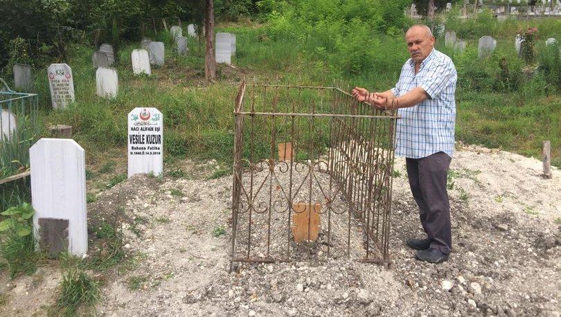 trabzon'da mezar açtıran şüphe