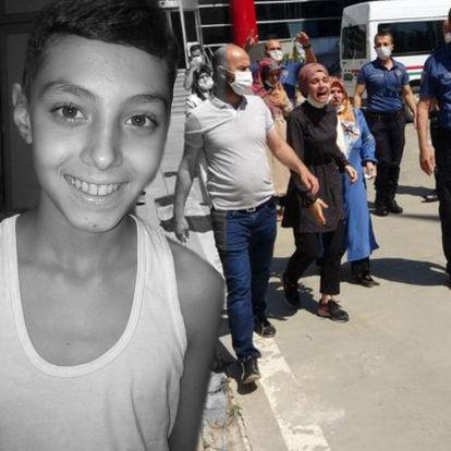 Vahşice öldürülen Hüseyin'in davasında gerginlik