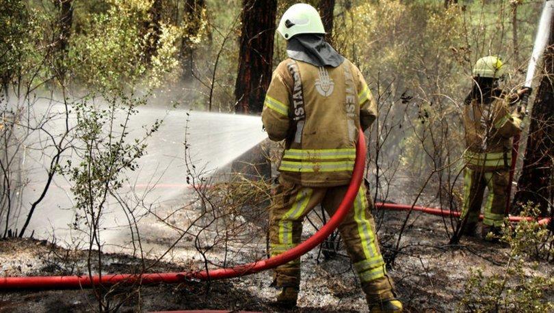 sarıyer orman yangını