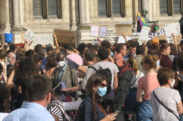 Fransa'da yeni kabinedeki iki bakana protesto!