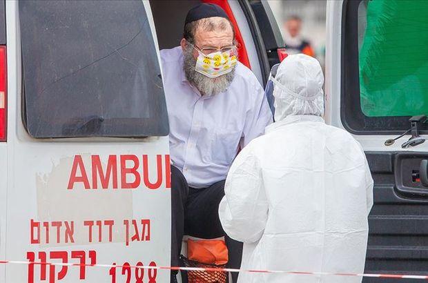 İsrail'de Kovid-19 vaka sayısı 36 bini aştı