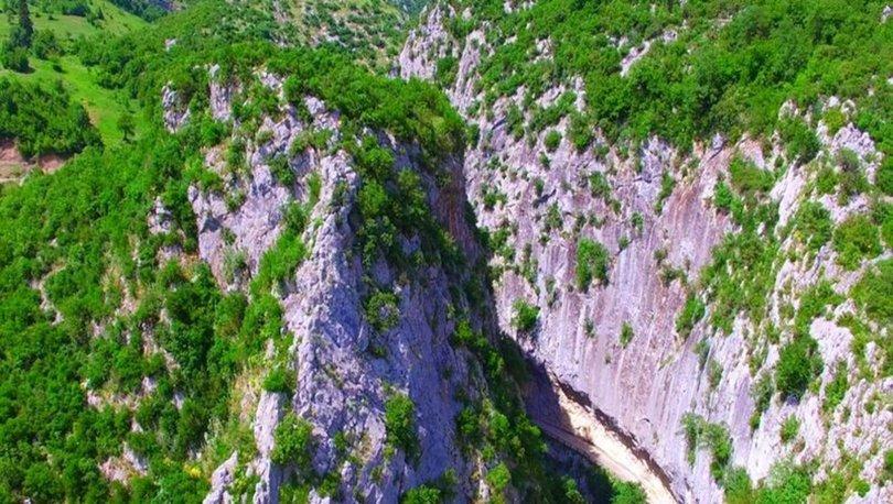 Ulukaya Şelalesi ve Ulukaya Kanyonu
