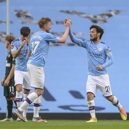 Brighton and Hove Albion: 0 - Manchester City: 5 | MAÇ SONUCU